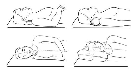 Correct Sleeping Positions
