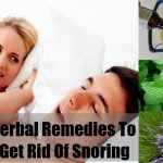 Herbal Remedies for Curing The Problem of Snoring