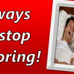 5 Ways To Reduce Snoring Before Visiting a Doctor