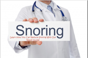 how to avoid snoring
